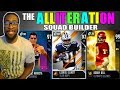 THE ALLITERATION SQUAD BUILDER! Madden 19 Ultimate Team Gameplay