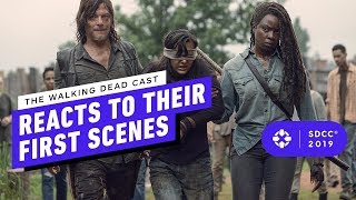 The Walking Dead: Norman Reedus, Jeffrey Dean Morgan REWATCH Their First Scenes - Comic Con 2019