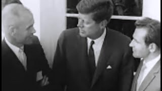 May 3, 1962 - John Glenn and German Titov meets President John F. Kennedy