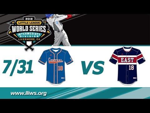 2018 Intermediate World Series Game 11: Central vs East
