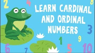 Learn Ordinal Numbers For Kids First Second Third Numbers For Preschool And Kindergarten