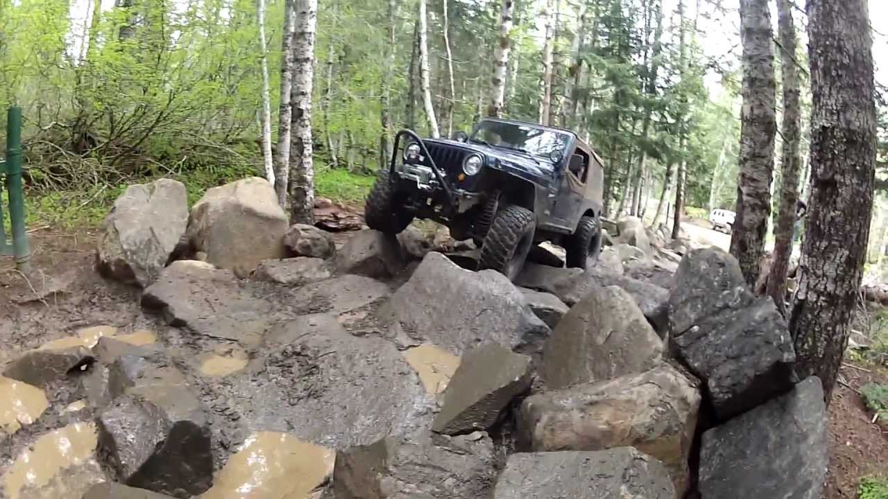 Tj Rock Crawler : Wrangler tj rock crawler youtube
