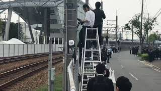 通過列車から「哀悼の警笛」JR福知山線脱線事故から14年