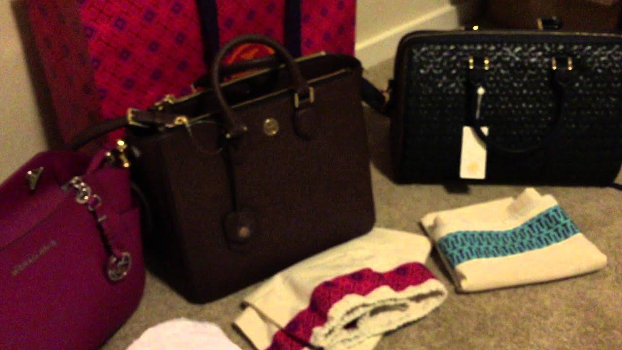f7a2e46d0742 Designer Handbag Holiday Haul 2014 - Tory Burch / Michael Kors / Kate Spade