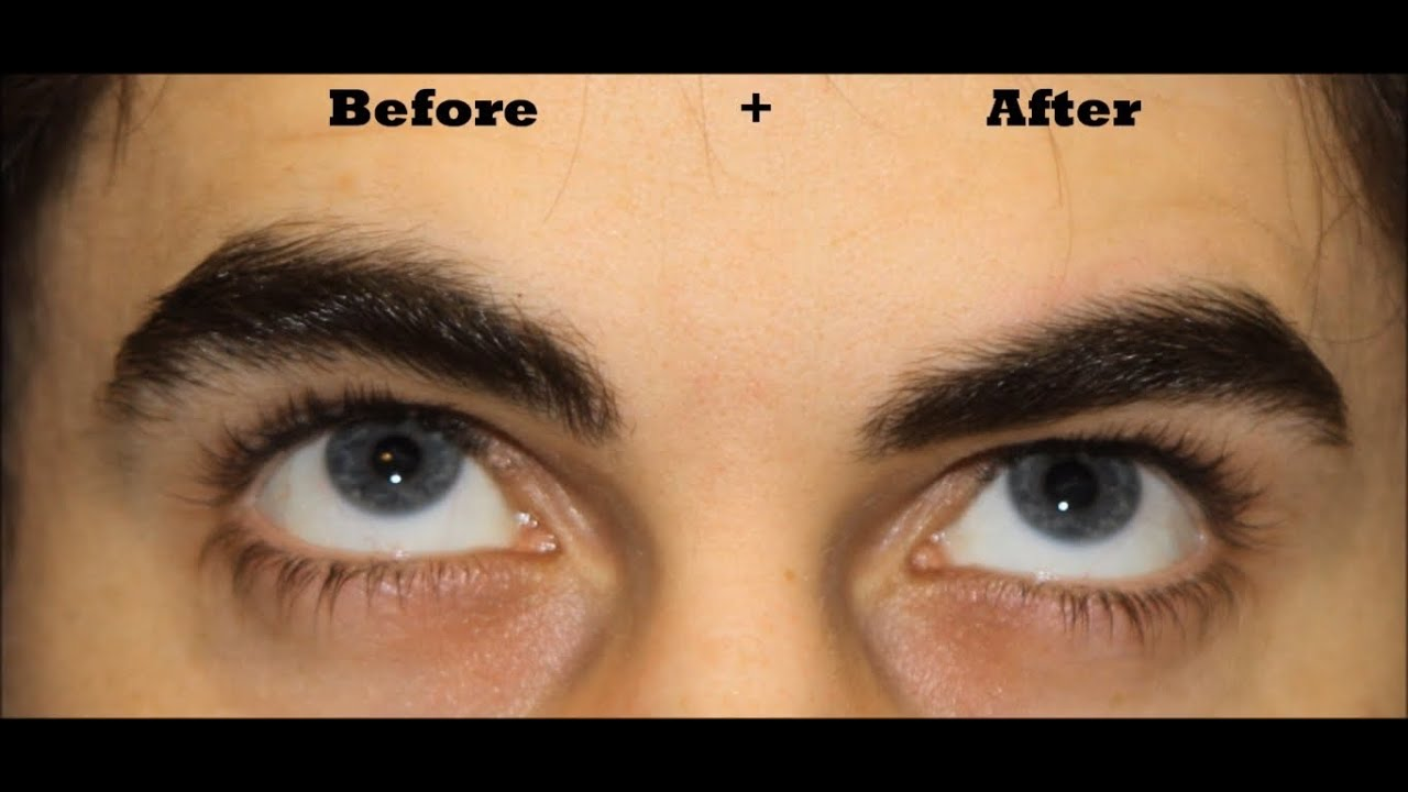 How To Man Brows Youtube