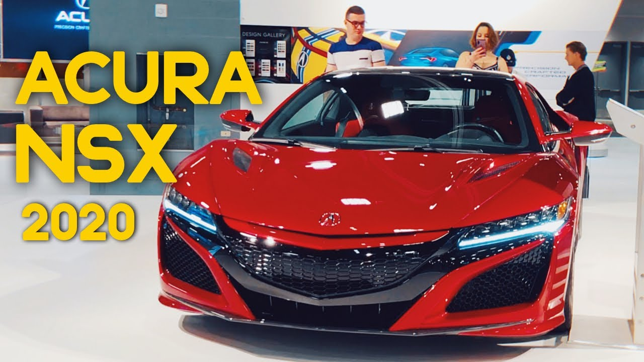 Miami Auto Show 2020.Acura Nsx 2020 No Miami International Auto Show Walkaround