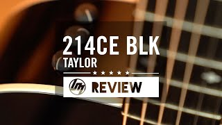 Taylor 214 Black Deluxe | Better Music