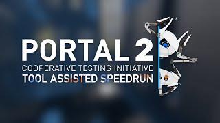 Portal 2 Co-op TAS in 14:02.017