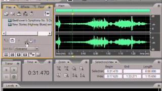 Видео уроки по Adobe Audition. Урок 1: Интерфейс программы