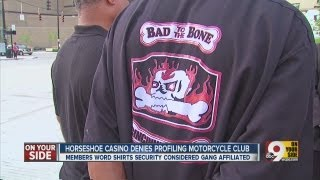 Horseshoe Casino Cincinnati denies profiling motorcycle club