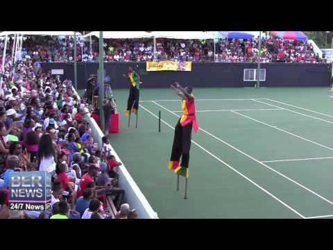 St Kitts Stilt Walkers At Gombey Festival, September 13 2014