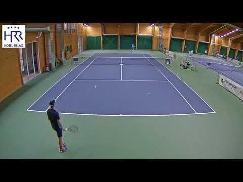 Filip Duda vs  Daniel Rabas 6 11 2017 ITF Futures Milovice   muži