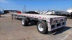 Used Aluminum FLATBED Trailer For Sale in Texas  Porter Truck Sales in Houston Tx