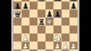 Blitz Thriller: French Defense:  Tal vs Petrosian