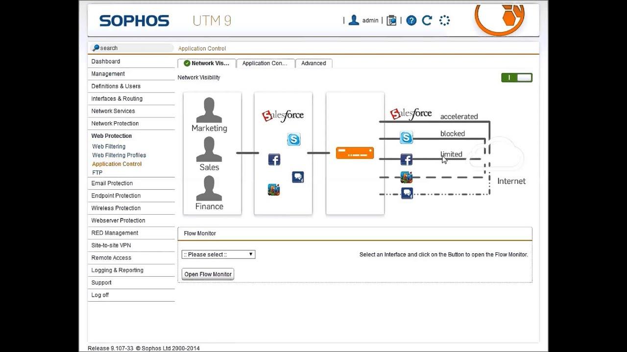 Sophos Utm V9 Web Filtering Profiles Youtube
