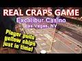 REAL Craps Game - Excalibur Casino, Las Vegas, NV