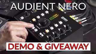 Audient Nero Desktop Monitor Controller Demo & Giveaway - Warren Huart: Produce Like A Pro