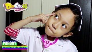 What If Aqilla Jadi Dokter ♥ Main Dokter Dokteran - Doctor Play Set Toys