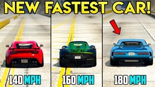 GTA Online: NEW FASTEST TOP SPEED VEHICLE - Lampadati Viseris Review + Should You Buy?