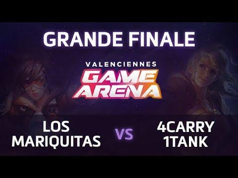 [LANEX] Finale Valenciennes Game Arena - Mariquitas vs 4C1T