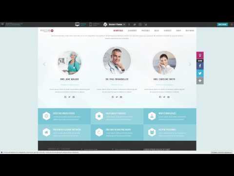 Doctor+  Responsive Medical WordPress Theme