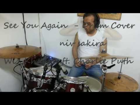 Wiz Khalifa  See you again - Drum Cover  by Niv.s