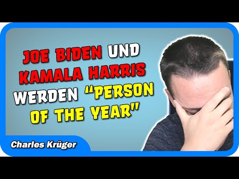 "Joe Biden & Kamala Harris wurden zur ""Person of the Year"" ernannt!"