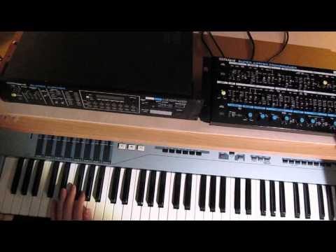 Roland Super Jupiter MKS-80 rev 5: sound demo part 1