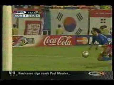 Totti's Red card vs South Korea