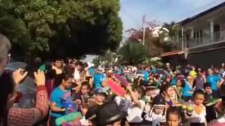 ブラジルの独立記念日の行進Desfile de dia de independência no Brasil.