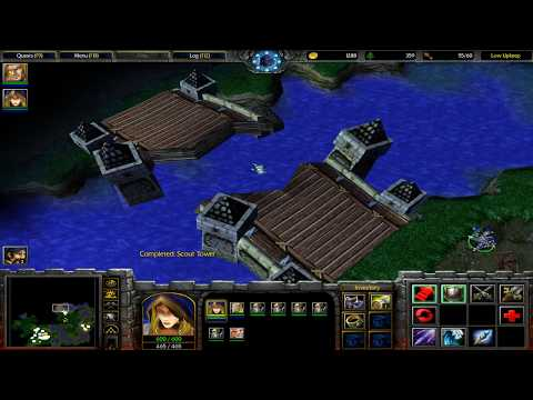 Warcraft III: Reign of Chaos ¦ Human Campaign: Chapter #4 - The Cult of the Damned
