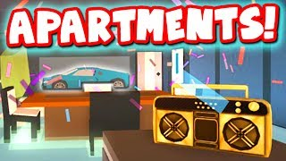Apartments are here in roblox jailbreak!!!