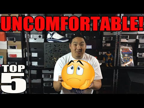TOP 5 MOST UNCOMFORTABLE SNEAKERS!