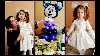 Отмечаем день рождения Олеси 5 лет! Юбилей! Подарки!
