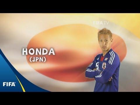 Keisuke Honda - South Africa 2010