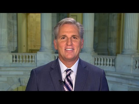 Rep. McCarthy on running for House speaker and unifying GOP