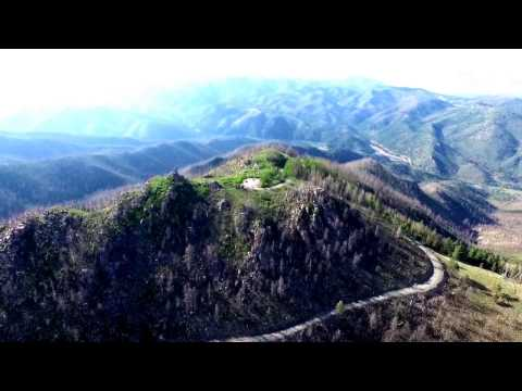 Ruidoso New Mexico Aerial Views-Phantom 3 Pro