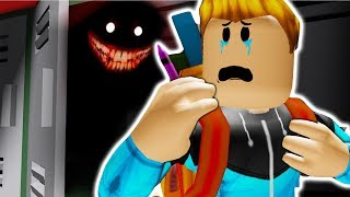 HAUNTED SCHOOL (Camping 8)-Roblox game
