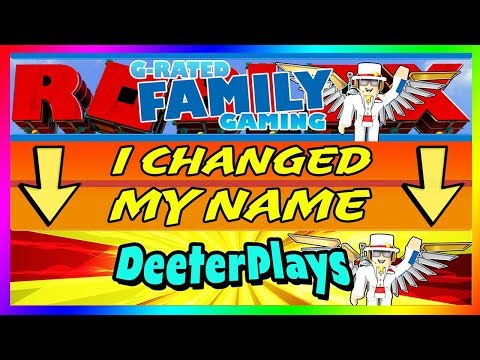 "I CHANGED MY NAME...Here's Why | ""G-Rated Family Gaming"" is now ""DeeterPlays"""