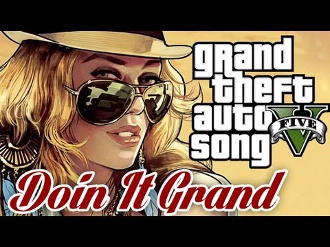 Grand Theft Auto 5 SONG 'DOIN IT GRAND' - TryHardNinja ft Brysi (GTA V)