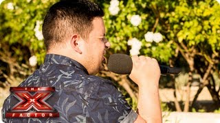 Paul Akister sings Last Request by Paolo Nutini -- Judges Houses -- The X Factor 2013