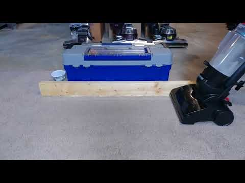 Carpet Edge Cleaning Using A Bissell Powerforce Compact