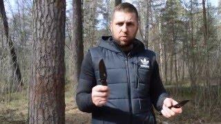 строгание, рубка и батонинг ножами HOKUM и HAVOC Mr Blade