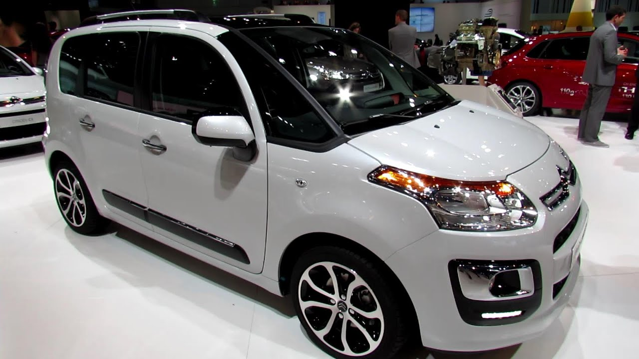 2014 citroen c3 picasso exterior and interior walkaround 2013 frankfurt motor show youtube. Black Bedroom Furniture Sets. Home Design Ideas
