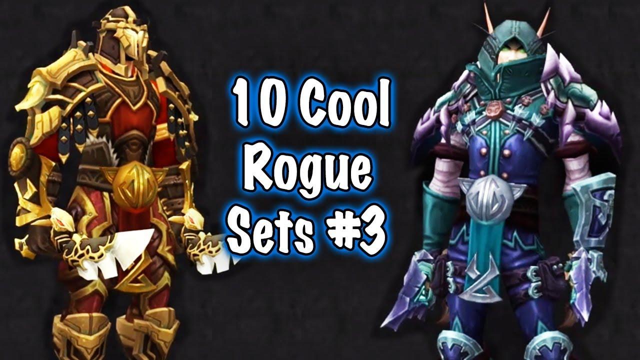 Jessiehealz 10 Cool Rogue Transmog Sets 3 World Of Warcraft
