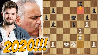 Garry Kasparov vs Magnus Carlsen! || Champions Showdown: Chess9LX (2020)