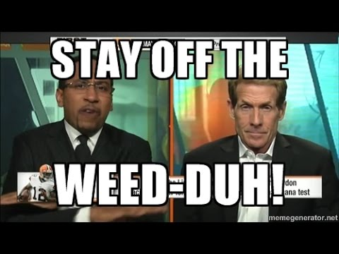 Best Weed Rants by Stephen A Smith (Compilation)