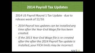 Year End Closing Procedures for Microsoft Dynamics GP Payroll