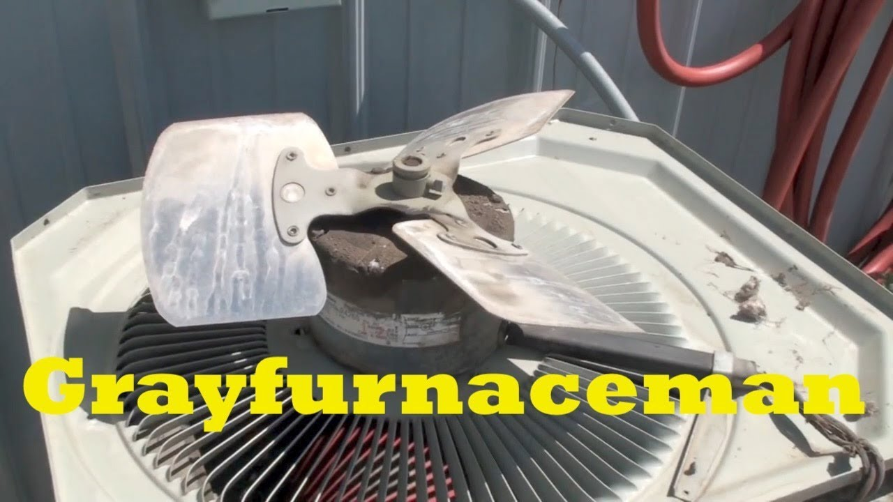 Service The Air Conditioner Check And Oil The Fan Motor