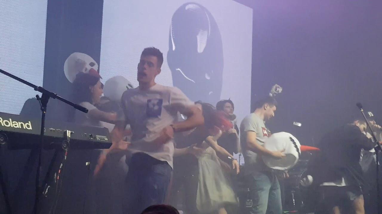 Танцы - NOIZE MC и Юрий Дудь - Live @ RED club - 2 января 2018 г.